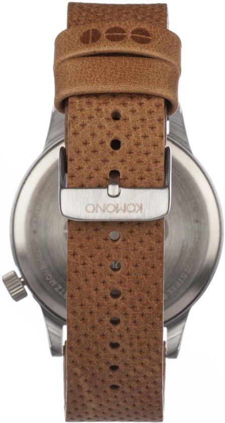 Komono Winston Blue Cognac Horloge