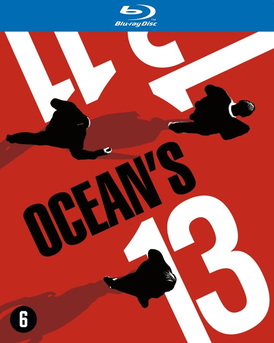DVD cover van Oceans 11 + 12 + 13 (Complete Collection) (Blu-ray)