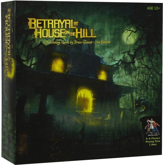 Afbeelding van Betrayal At The House On The Hill - Bordspel speelgoed