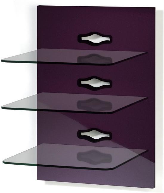 Vcm hi fi audio opberg rek wand meubel xeno 3 zwart met zwarte glasplaten - Hifi wandhalterung ...