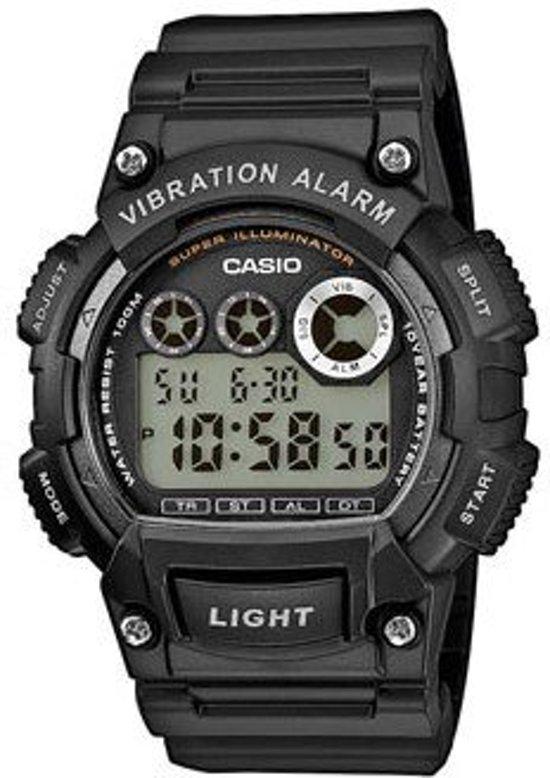 Casio W-735H-1AVEF - Horloge - 46 mm - Kunststof - Zwart