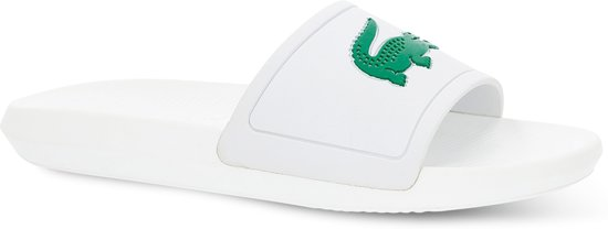 Heren Maat Croco Slippers 1 119 42 Slide Wit Lacoste SBqxP0YO0