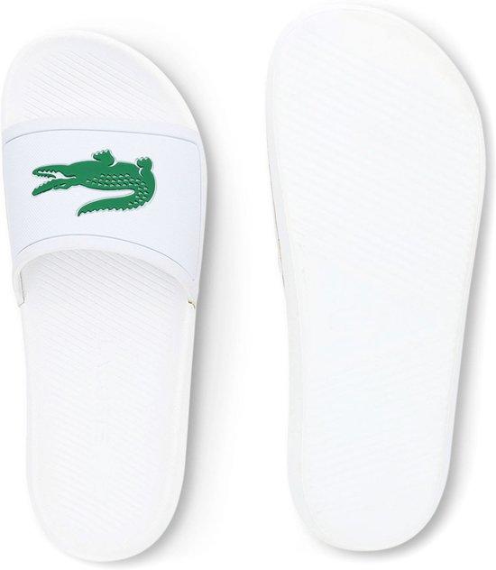 Heren Maat Croco Slippers 1 119 42 Slide Wit Lacoste SBqxP0YO0