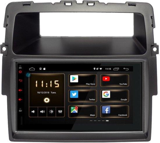 NISSAN Primastar Android 9.1 navigatie autoradio 2GB ram bluetooth carkit