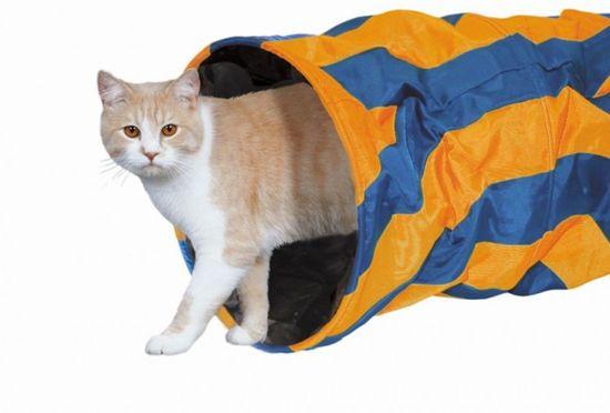 Nobby katten speeltunnel nylon 50 cm - 1 ST