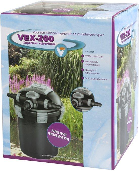 Vijvertechniek Vt Velda Vt Vt Vex Vijverfilter Vex 200