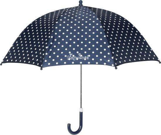 Playshoes   Paraplu Stippen   Blauw  