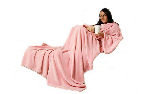 Snug Rug Deluxe C Fleece Tv Deken Pink