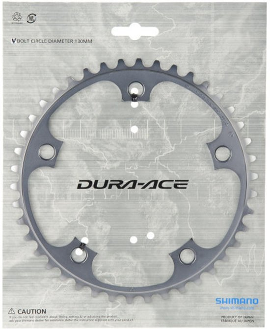 Shimano Dura-Ace 7800 - kettingblad - Steek 130 - 53 Tands