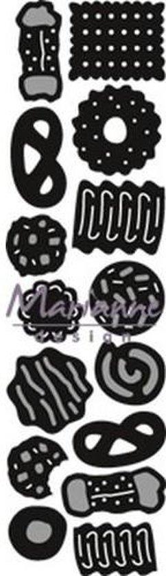 Marianne Design Craftable Mal Koekjes CR1403 8.0x16.0 cm
