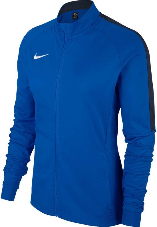 Nike Dry Academy 18 Trainingsjas Dames Sportjas Maat L Vrouwen blauw