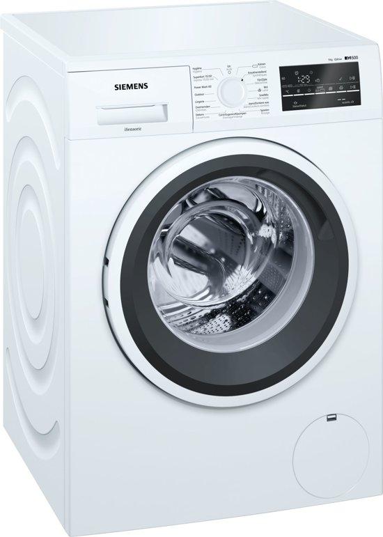 Siemens iQ500 WM16T46CFG Vrijstaand Voorbelading 9kg 1600RPM A+++-30% Wit wasmachine
