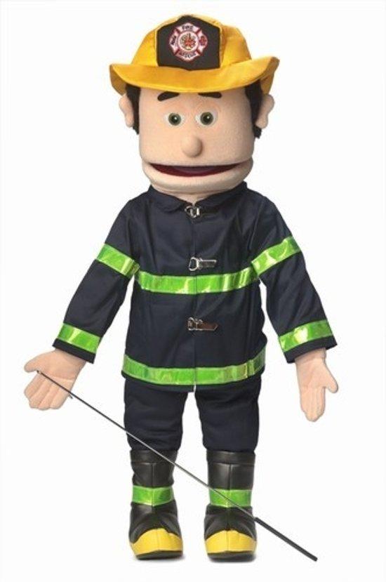 Handpop Brandweerman Sillypuppets