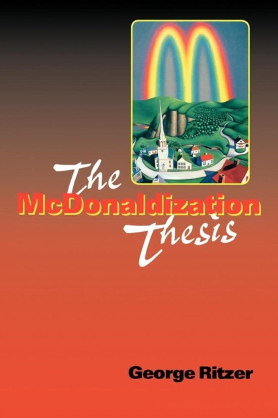 chapter 3 macdonalization