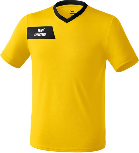 Erima Porto - Voetbalshirt - Heren - Maat XXL - Geel/Zwart