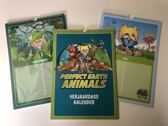 Perfect Earth Animals - Verjaardagskalender