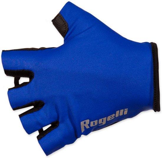 Rogelli Belcher - Fietshandschoenen - Kids - Blauw - Maat 140/152