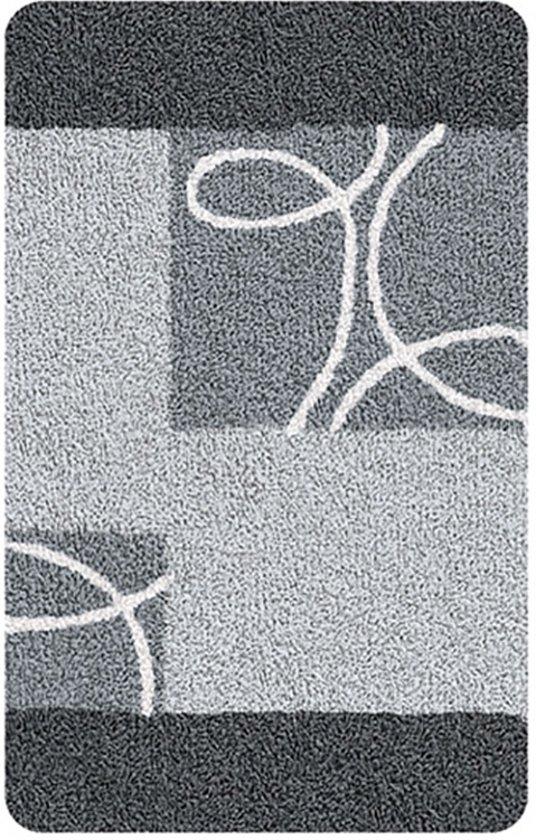 Badmat Curly Grijs 60x100cm