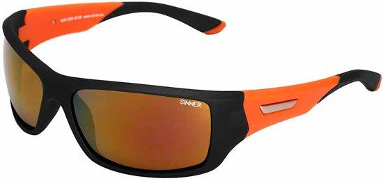 Sinner Balos - Sportbril - UV-bescherming - Zwart/Oranje