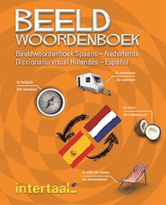 Boek cover Beeldwoordenboek Spaans-Nederlands / Diccionario visual holandés-Español van VeMag (Paperback)