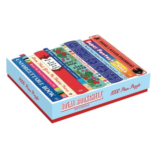 Ideal bookshelf: universal 1000 piece puzzle