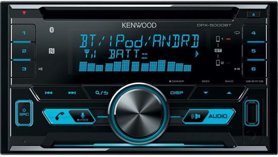 Kenwood DPX-5000BT - Autoradio dubbel DIN - USB - CD - Bluetooth