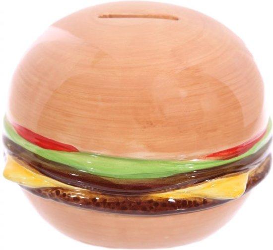 Spaarpot fast food hamburger