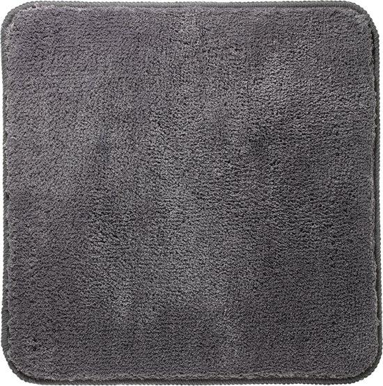 Sealskin Angora - Badmat - 60x60 cm - Grijs