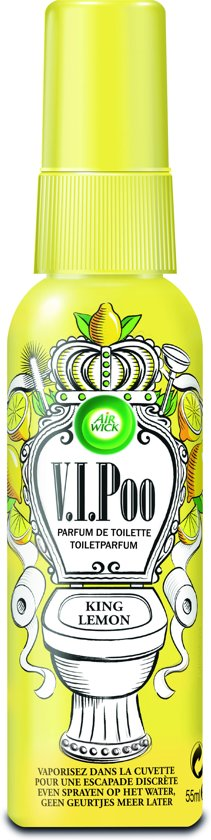 Air Wick V.I.Poo Toiletparfum King Lemon