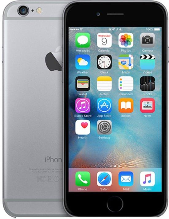 apple iphone 6 refurbished door renewd 16gb spacegrijs. Black Bedroom Furniture Sets. Home Design Ideas