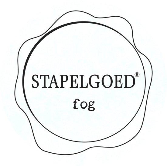 Stapelgoed - Matte Lak - Fog - Wit - 1L