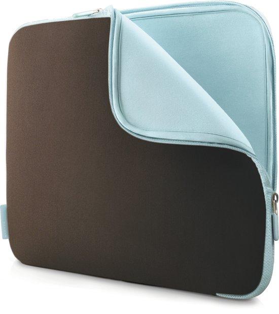 Belkin Neopreen Sleeve - 15.6 inch / chocoladebruin /  toermalijnblauw