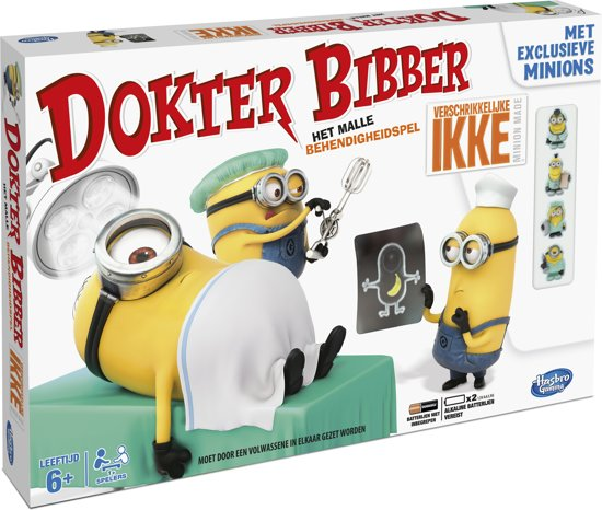 Dokter Bibber Verschrikkelijke Ikke - Kinderspel