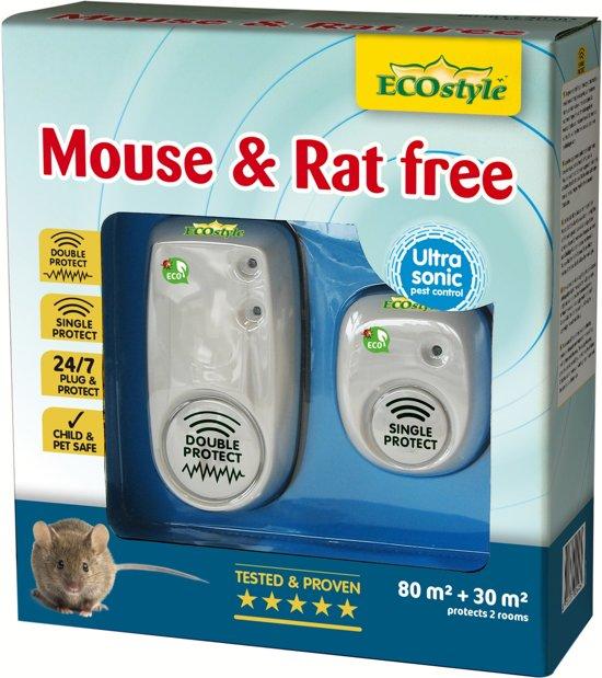 Mouse & Rat free 80+30 m² (duopack)