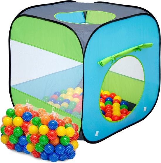 LittleTom Speeltent Popup Kindertent Ballenbad Arielle incl. 200 ballenbadballen
