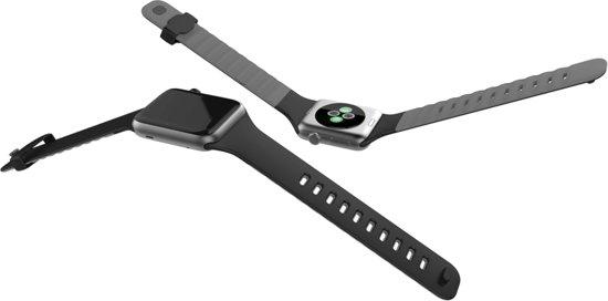 Apple watch armband zwart