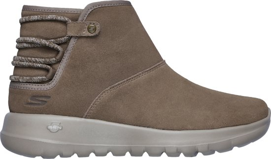 04a6a05a8b0 bol.com | Skechers On-The-Go Joy Sneakers Dames - Dark Taupe