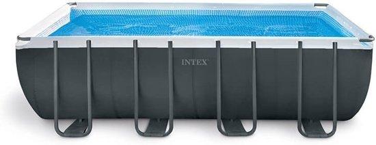 Intex Opzetzwembad Met Accessoires Ultra Xtr Frame 549 X 274 X 132 Cm Antraciet