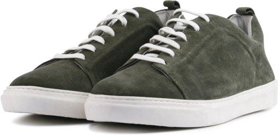 Maat Sneakers 3 Giuseppe 8204 SuedeGroen Maurizio 41 Mannen 3LR4qc5Aj