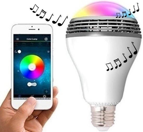 bol.com | Bluetooth LED Lamp inclusief Luidspreker + Gratis App voor ...