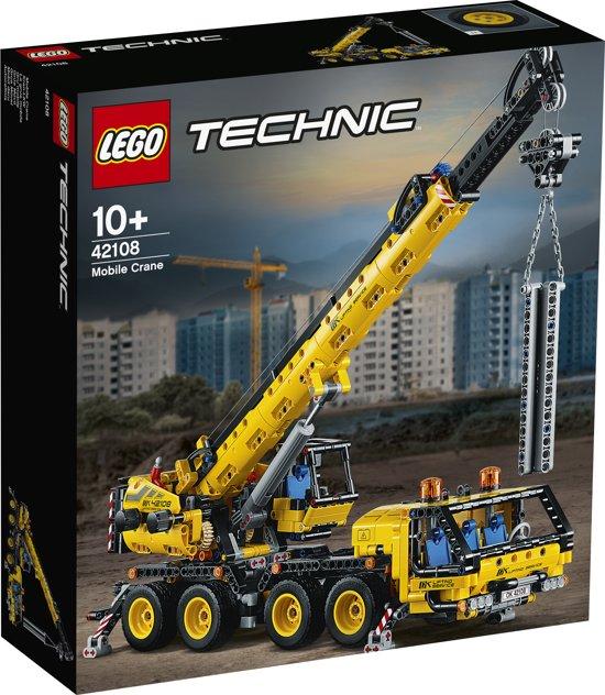 Afbeelding van LEGO Technic Mobiele Kraan - 42108