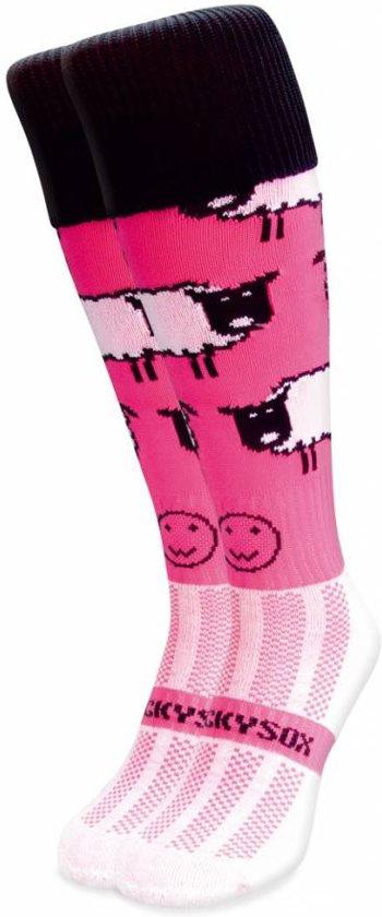 WackySox Roze schaap sokken Roze - 46-49