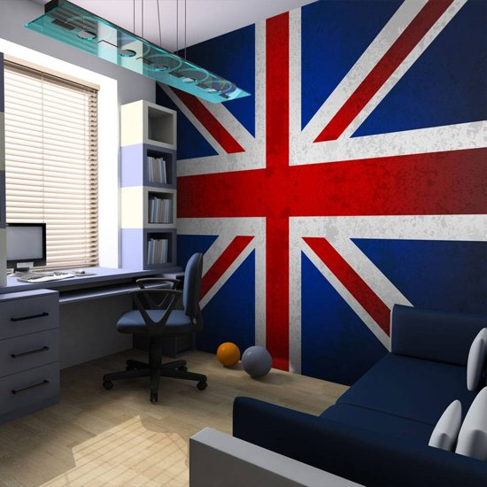 Bolcom Fotobehang Union Jack Engelse Vlag