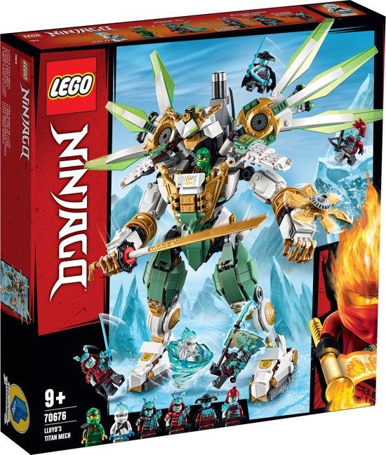 LEGO NINJAGO Titanium Mecha van Lloyd - 70676