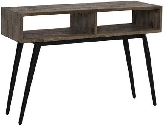 Side Table Donker Hout.Donker Houten Sidetable Dizzymansband