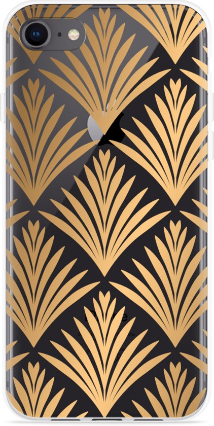 iPhone 8 Hoesje Art Deco Gold