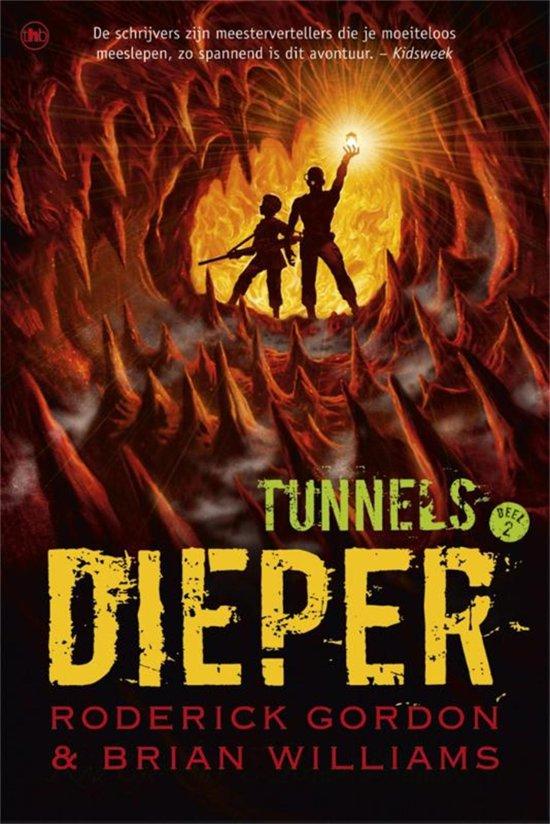 Spiksplinternieuw bol.com   Tunnels 2 - Dieper (ebook), Roderick Gordon GG-84