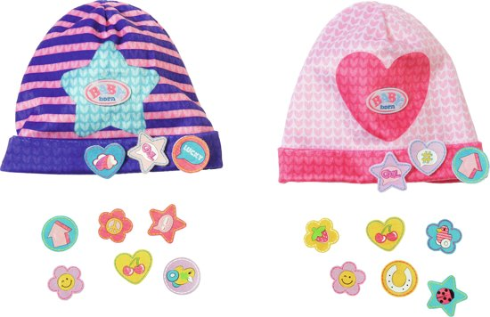 BABY born® Caps with funny pins