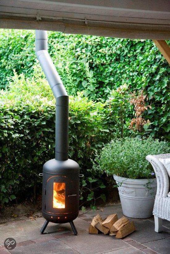 Wonderlijk bol.com | Burnies Terrasverwarmer Veranda terraskachel / buitenkachel YF-43