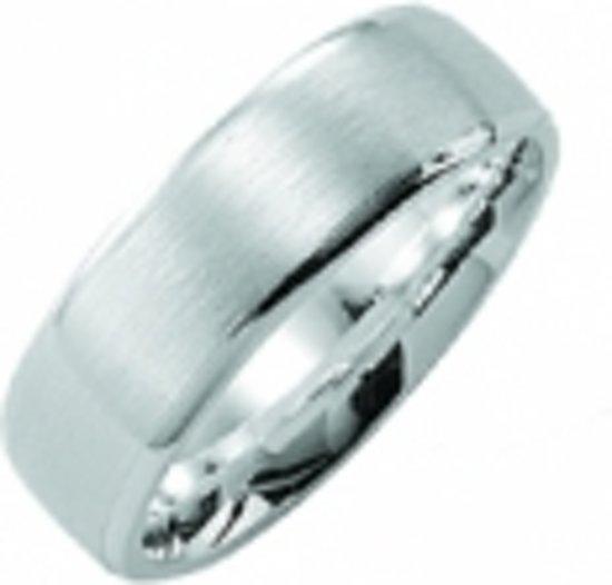 Kiss Me ring zilver mat-hoogglans KM119 maat 54